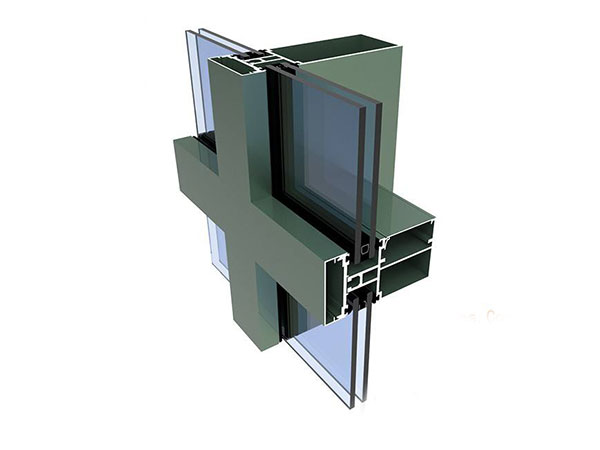 Aluminium Curtain Wall Profile