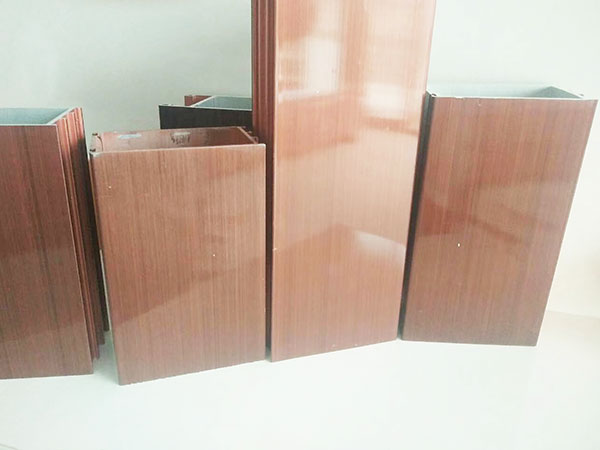 Copper Colour Aluminium Profile